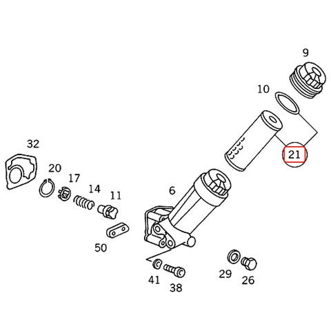 ベンツ Eクラス W124 エンジンオイルフィルター/オイルエレメント 220E 220TE 280E 300E-24 300CE-24 320E 320CE 320TE E220 E280 E320