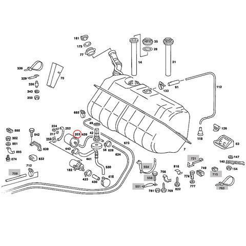 ベンツ 燃料フィルター