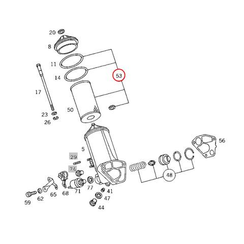 ベンツ エンジンオイルフィルター オイルエレメント