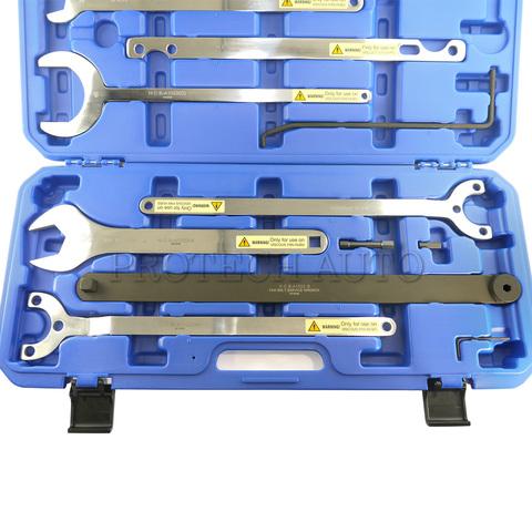 ベンツ BMW ファンカップリング/ファンクラッチ 脱着工具 8本セット ツール