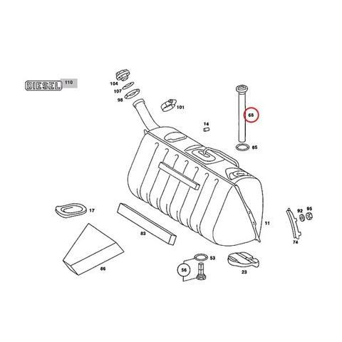 ベンツ 燃料レベルセンサー