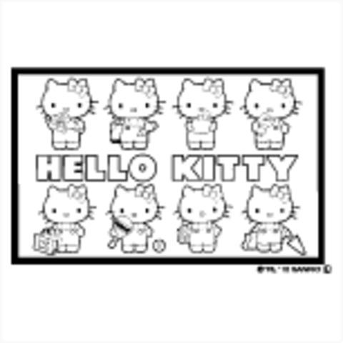 イラストスタンプぬりえ キティ Sft Rllh02 はんこ屋さん21恋ヶ窪店