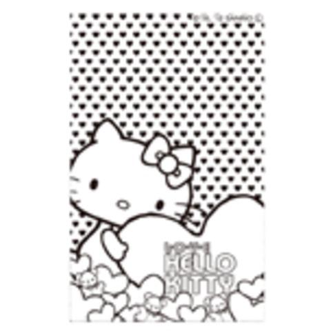 イラストスタンプ:ぬりえ キティ SFT-RLLH08 (サンリオ)