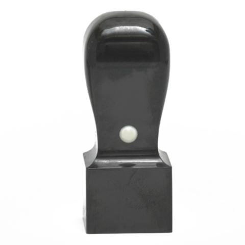 天然黒水牛 角印 21mm・24mm