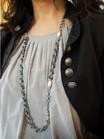 ルピーノ ワンパターンペレンクロッシェのネックレス