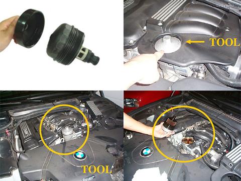 BMW 7シリーズ F01 F04 F02 オイルフィルターレンチ 取り外し工具 A1130 740i 740Li ActiveHybrid7 ActiveHybrid7L