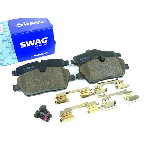 SWAG製 BMW MINI R55 R56 R57 R58 R59 フロント ブレーキパッド 34116772892 34116860016 20916559 Clubman Cooper One
