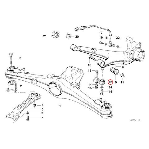 BMW 6シリーズ E24 クーペ リアステアリングアーム/ピットマンアーム 左右 2個セット 33321126476 33321125665 635CSi
