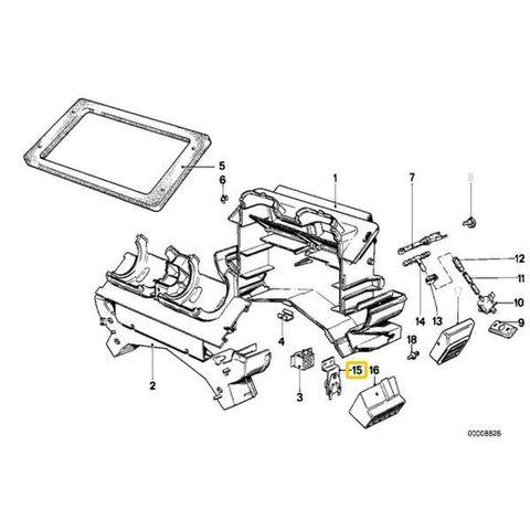 純正OEM BEHR製 BMW 5シリーズ E28 6シリーズ E24 ブロアレジスター/ファイナルステージ 64111381784 9ML351332-031 520i 635CSi
