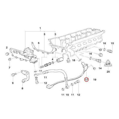 純正OEM VDO製 BMW Z3 ロードスター 2.8 カムシャフトポジションセンサー/カムセンサー 5WK96011Z 12141703221