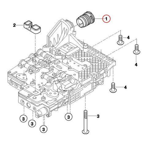 全国送料200円 URO製 BMW F01 F02 E65 E66 ATカプラー/シールスリーブ/ミッションカプラー 24347588725 740i 750i 740Li 750Li 735i