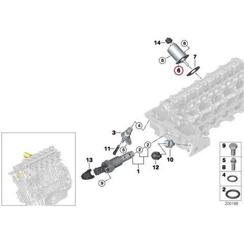 純正OEM VDO製 BMW F10 F11 VVTモーター/サーボモーター/バルブトロニックモーター 11377548388 523i