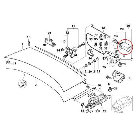 純正OEM VDO製 BMW E39 5シリーズ トランクロックアクチュエーター 5ピンタイプ 51248236897 406205012005V 525i 528i 530i 540i M5
