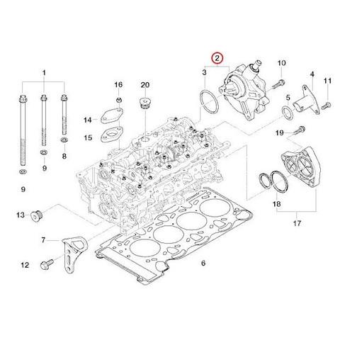 純正OEM Pierburg製 BMW 3シリーズ E46 E90 E91 バキュームポンプ 11667542498 11667635656 316i 318i 318Ci 320i