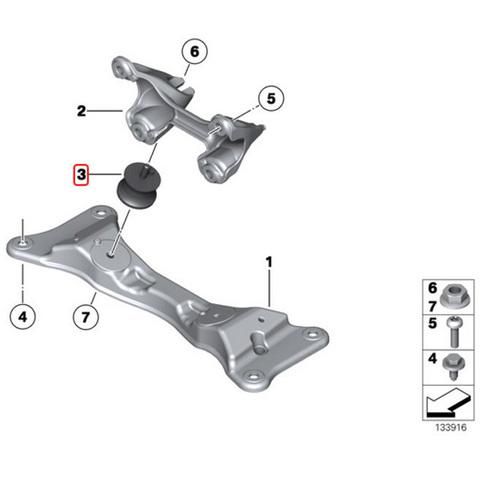 純正OEM LEMFORDER BMW F11 ミッションマウント/オートママウント 左右 1305001 22316799331 23711137817 22316771219