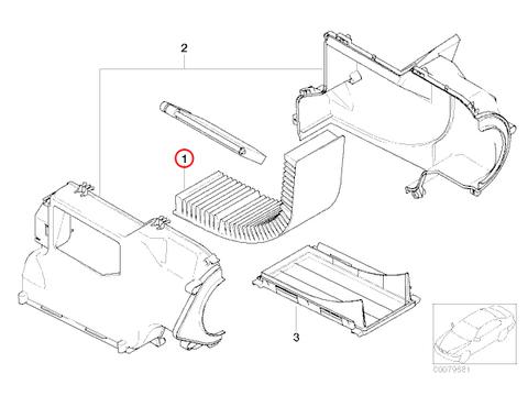 OP PARTS製 BMW MINI ミニ R53 エアコンフィルター/キャビンフィルター 活性炭入り 64311496710 64311496711 クーパーS CooperS