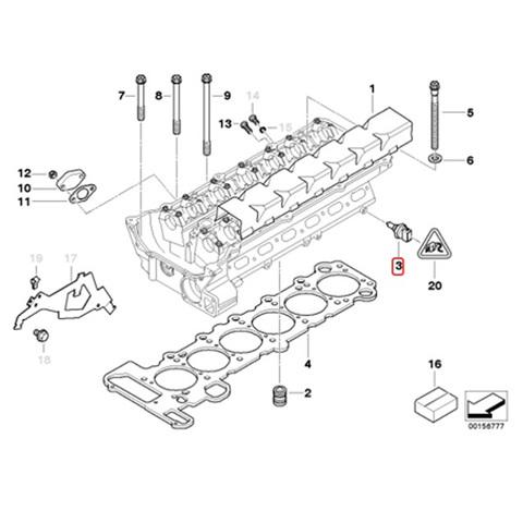 送料200円 FAE製 BMW E36 E39 E38 E31 X5/E53 Z3/E36 ダブルテンプスイッチ/水温センサー 33295 13621703993