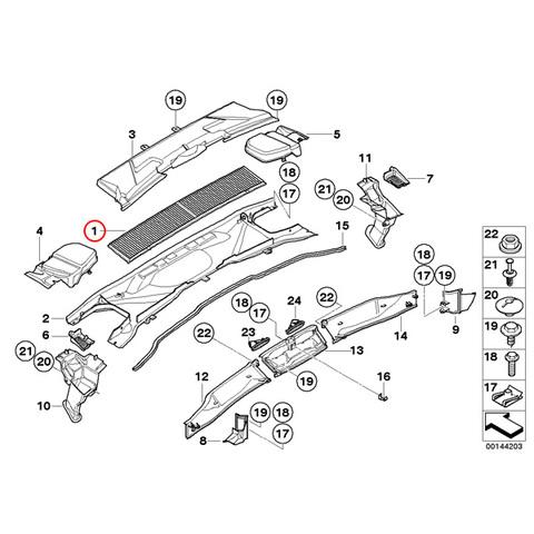 MEYLE製 BMW 1シリーズE87E88E82エアコンフィルター/キャビンフィルター/マイクロフィルター64319313517 116i118i120i