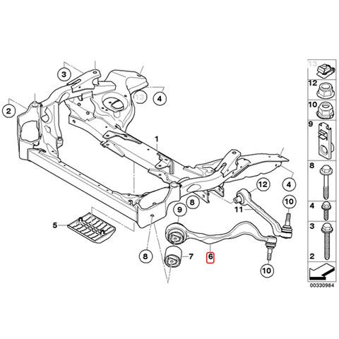 MEYLE製 BMW E90E91E92E93 フロント プルストラットアーム/スラストロッド 左右セット HD.ver 31126769797 320i323i325i330i