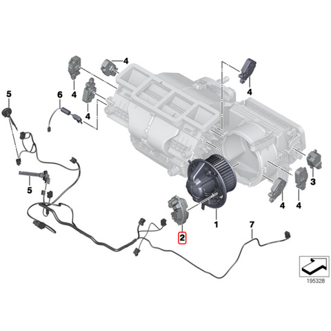 febi製BMW X5/E70 X6/E71ブロアレジスター64119265892 3.0si/xDrive30i 4.8i/xDrive48i xDrive35d/35i/50i X5M