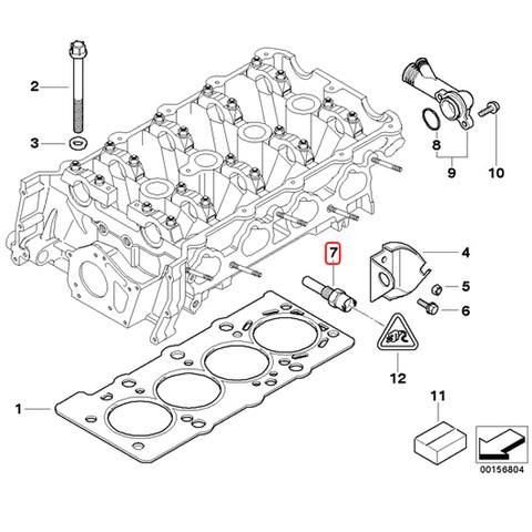 URO製 BMW 水温センサー