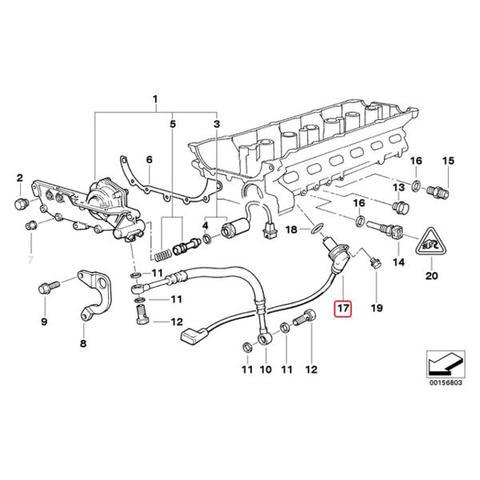 TPI製 BMW Zモデル Z3/E36 カムシャフトセンサー/カムカクセンサー/カムポジションセンサー 吸気側 12141703221 2.8