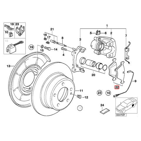MEYLE製 BMW ブレーキパッド/ディスクパッド
