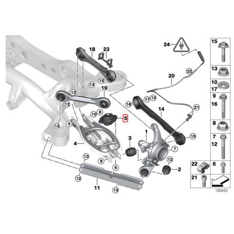 BMW リア/リヤ ストラットマウント