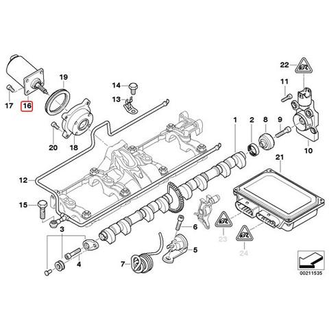 純正OEM VDO製 BMW VVTモーター/サーボモーター