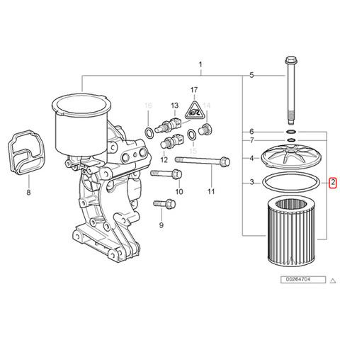 BMW エンジンオイルフィルター