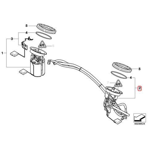 BMW 燃料レベルセンサー