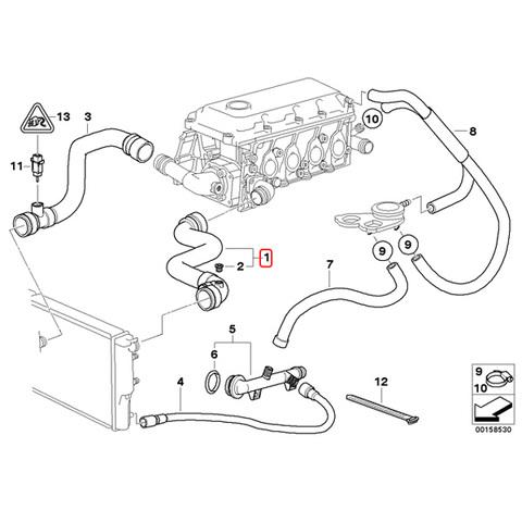 BMW ラジエーターホース