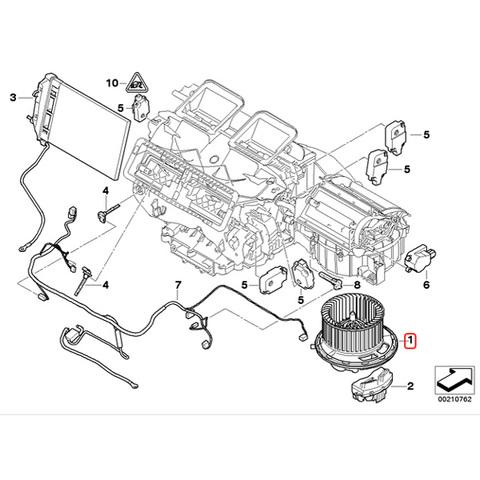 BMW ブロアモーター