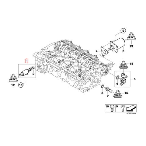 BMW MINI カムシャフトソレノイドバルブ