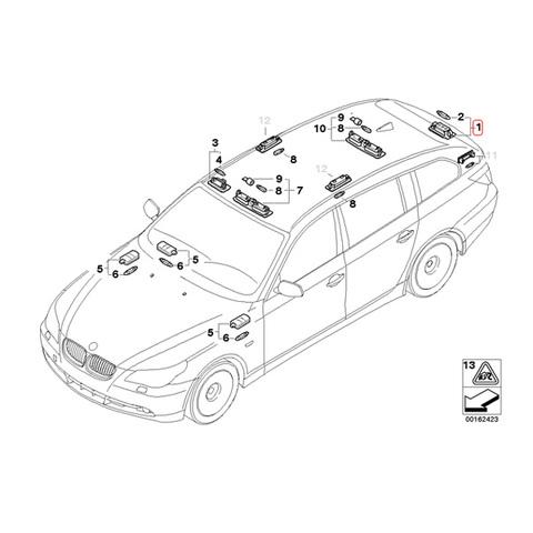 BMW 3連 ハイパワーLED ナンバー灯