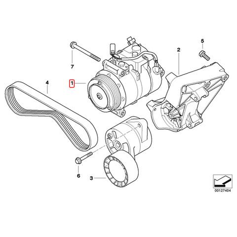 BMW ACコンプレッサー