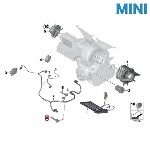 MINI エバポレーター 温度センサー
