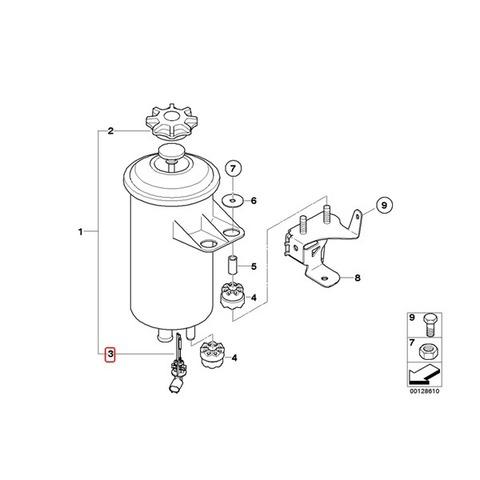 BMW クーラントレベルセンサー