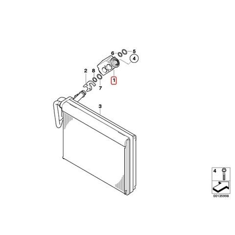 エキスパンションバルブ 新品 R12/R134A