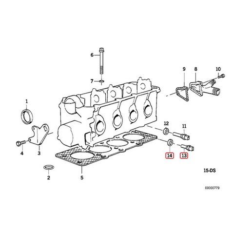 BMW 水温センサー
