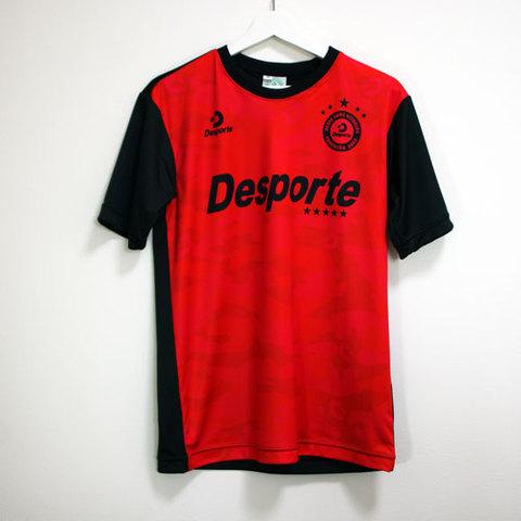 当店限定Desporte赤備えプラクティスシャツ