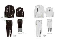 【予約販売】Desporteトレーニングスウェットシャツ(ジップ)