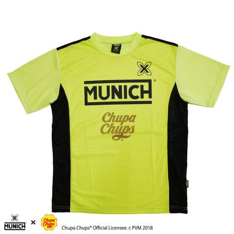 MUNICHチュッパチャップスロゴ昇華プラクティスシャツ