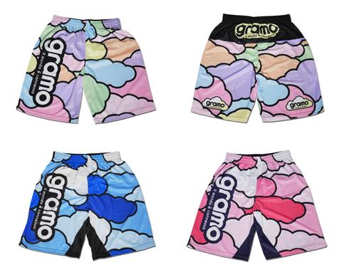【受注生産】gramo「cloud3-pants」プラクティスパンツ