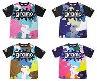 【受注生産】gramo「splash2」昇華プラクティスシャツ