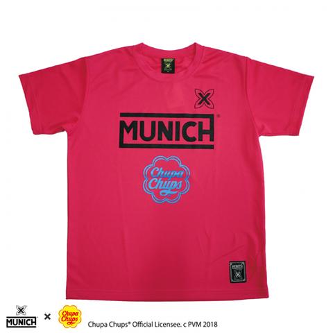 MUNICHチュッパチャップスロゴプラクティスシャツ