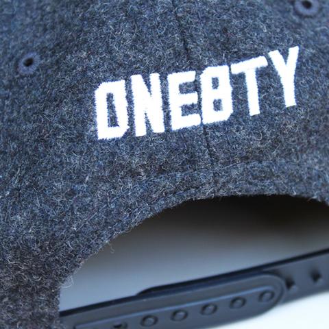 one8ty woolストレートキャップ