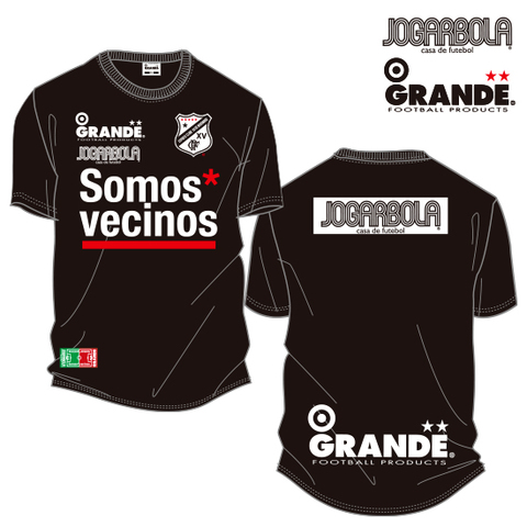 "JOGARBOLA×GRANDE ""Somos* vecinos""ドライメッシュTシャツ"
