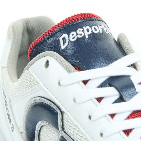 Desporteカンピーナス3パールホワイト×ネイビー×レッド
