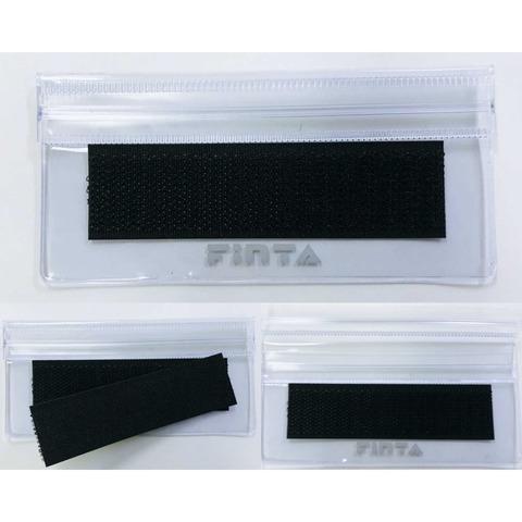 FINTA新リスペクトワッペン対応(長方形) レフリー 6点セット レフリーワッペンガード 新リスペクトワッペンガード 各1個付属